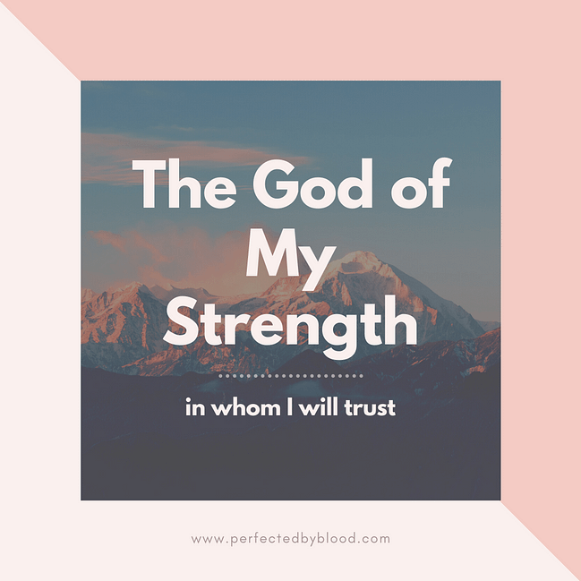bible verses about strength and faith